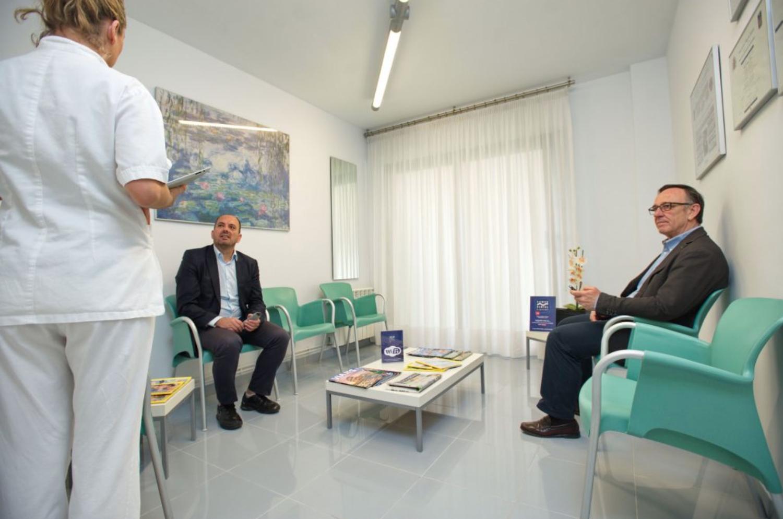 Sala d'espera Clínica dental Clofent a Tarragona